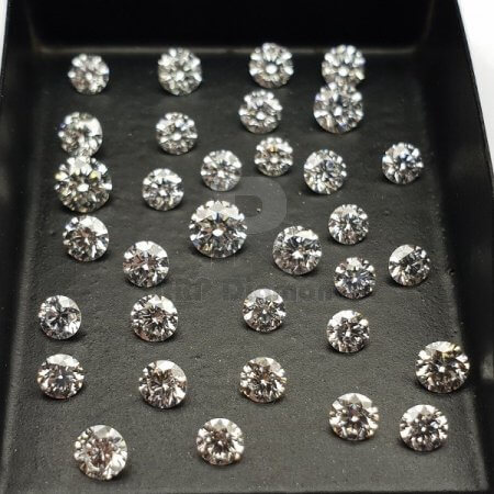 19 to 32 pointer J/K Color VVS Purity 3.70 TO 4.40 MM (Sixteen) Natural Diamonds