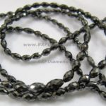 Black Long Diamond Beads Bracelet