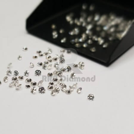 1.80 TO 2.60 MM J/K Color VVS Purity 2 To 7 Pointer(Melee) Natural Diamonds