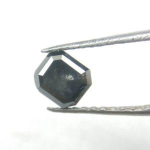 Unique Rose Cut Rustic Loose Asscher Shape Diamond