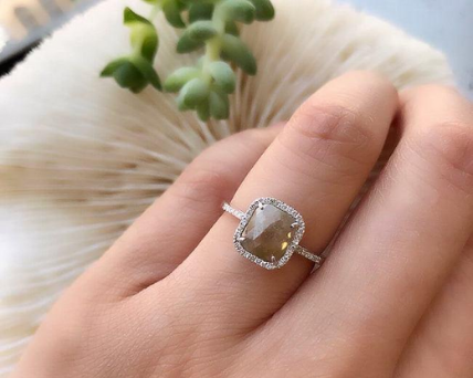 Rustic diamond