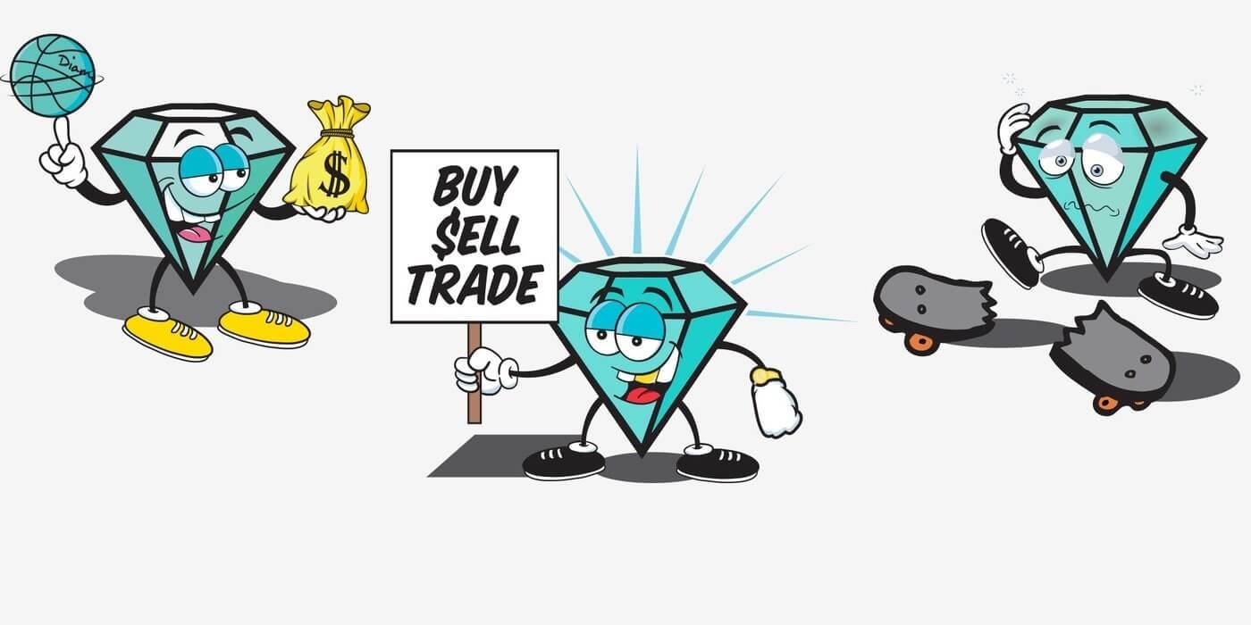 Buy and Sell Black Diamonds