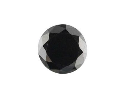 Treated black diamond