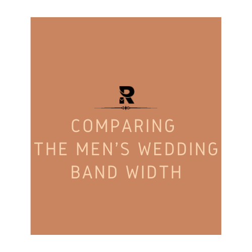 Comparing The Men's Wedding Band Width