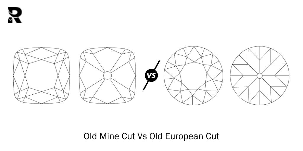 The Old Mine Cut Vs The Old European Cut