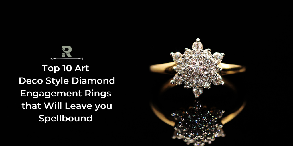 Art Deco Style Diamond