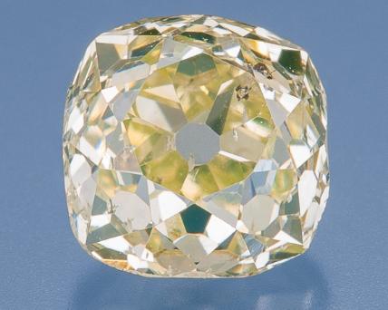 old mine cut diamonds