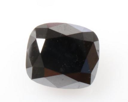 Cushion Cut Shape Black Diamond