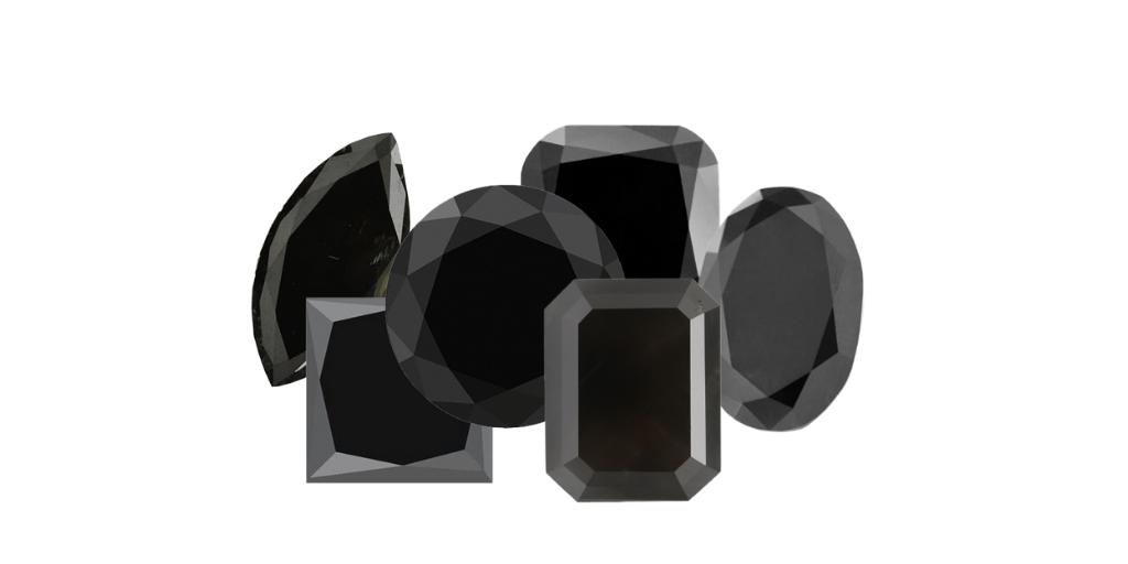 Different Black Diamond Shape