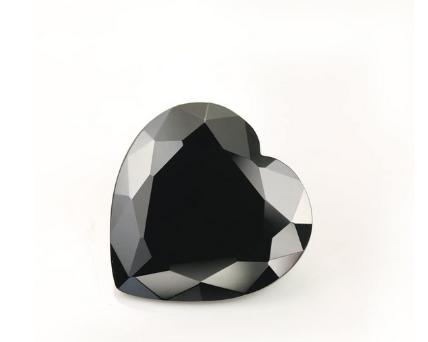 Heart Shape Black Diamond