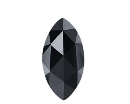 Marquise Cut Shape Black Diamond