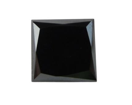 Princess Cut Shape Black Diamond