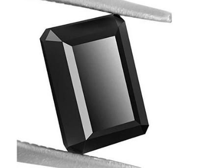 Radiant Cut Shape Black Diamond