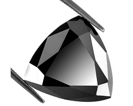 Trillion Cut Shape Black Diamond